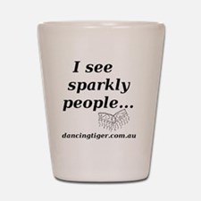 Sparkly People Shot Glass