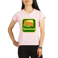 proud cheesehead Performance Dry T-Shirt