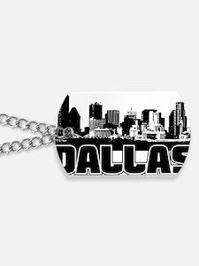 Dallas Skyline Dog Tags