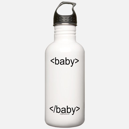 htmlbaby Water Bottle