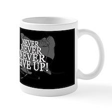 NEVER GIVE UP INVERT Mug