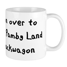 Mamby Pamby Writing Light Mug