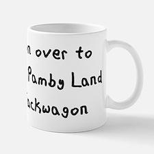 Mamby Pamby Writing Light Mug