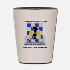 1-82ND AV RGT WITH TEXT Shot Glass