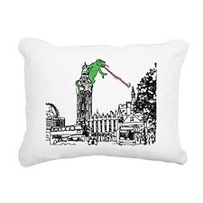 london cameleon Rectangular Canvas Pillow