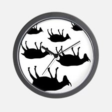fainting goat_goats Wall Clock