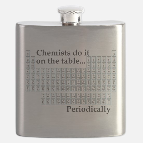 Chemist Do It On the Table...Periodically Flask