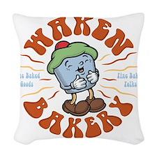 waken-bakery-DKT Woven Throw Pillow