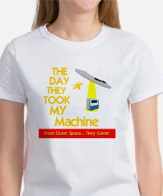 funny machinist design with ufo Tee