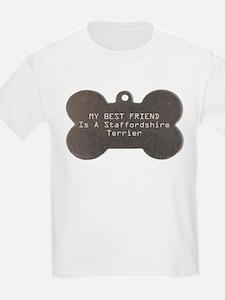 Friend Staffordshire Kids T-Shirt