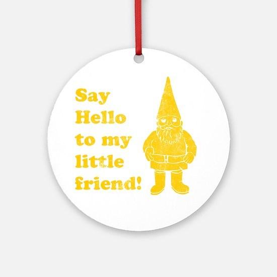 littlefriend Round Ornament