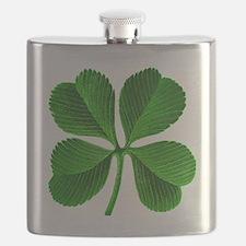 Lucky 4-leaf Clover Flask
