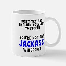 Jackass Whisperer Small Small Mug