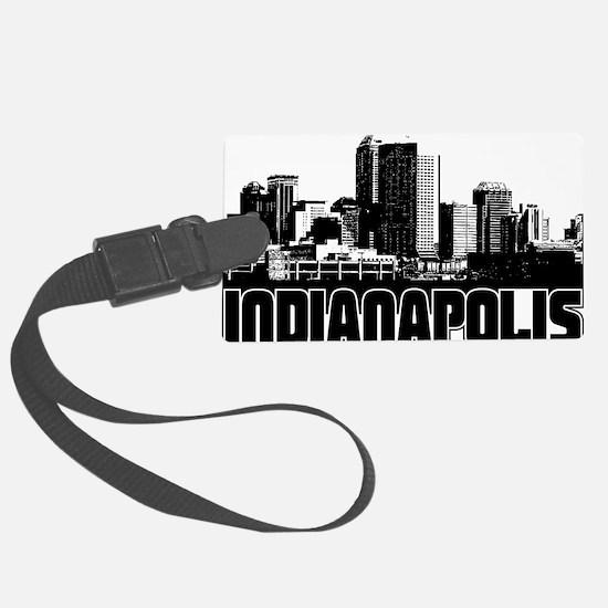 Indianapolis Skyline Luggage Tag