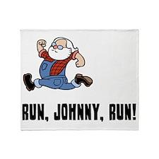 run-johnny-LTT Throw Blanket