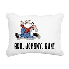 run-johnny-2-FLAT Rectangular Canvas Pillow