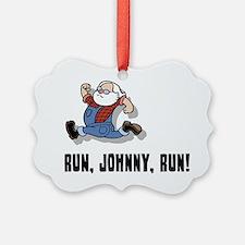 run-johnny-2-FLAT Ornament