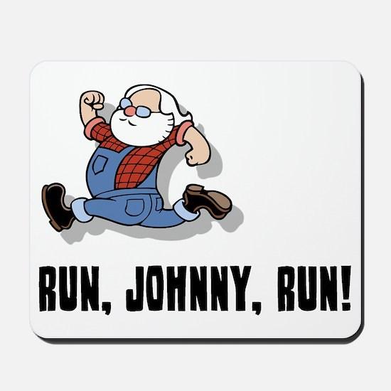 run-johnny-2-FLAT Mousepad