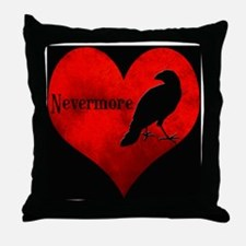 Nevermore_Coaster Throw Pillow