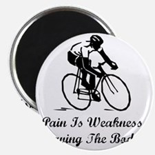 Pain Is Weakness Black Magnet
