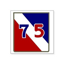 "75th Infantry Division Square Sticker 3"" x 3"""