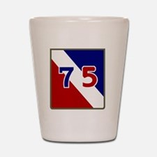 75th Infantry Division Shot Glass