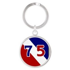 75th Infantry Division Round Keychain