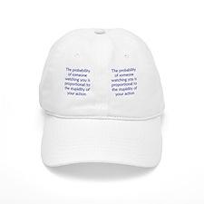 probability_stupid_mug1 Baseball Cap