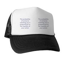 probability_stupid_mug1 Trucker Hat