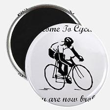 Cycling Broke Black Magnet