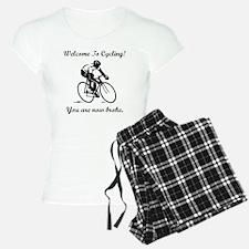Cycling Broke Black Pajamas
