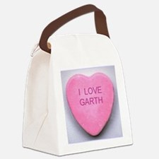 HEART GARTH Canvas Lunch Bag