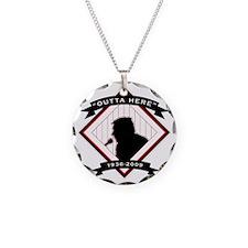 Harry Kalas - back Necklace Circle Charm