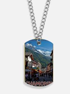 Chamonix Town Dog Tags