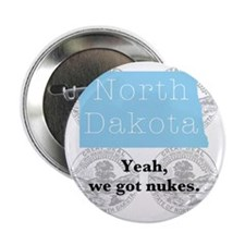 "North Dakota 2.25"" Button"