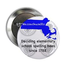 "Massachusetts 2.25"" Button"