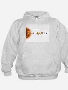 Galactic map Kid's jedi hoodie
