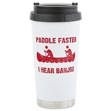 PaddleFaster_red Thermos Mug