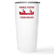 PaddleFaster_red Travel Mug
