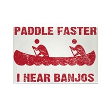 PaddleFaster_red Rectangle Magnet