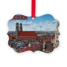 Munich Cityscape Ornament