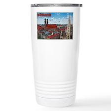 Munich Cityscape Travel Mug
