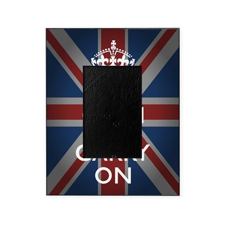 Keep Calm and Carry On Picture Frame