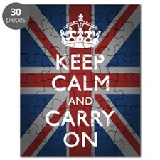 Keep Calm and Carry On Puzzle