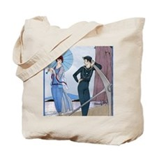 IPAD 8 AUG  BARBIER LOVE Tote Bag