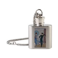 IPAD 8 AUG  BARBIER LOVE Flask Necklace