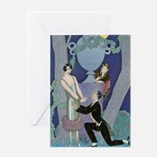 IPAD 6 JUNE  BARBIER LOVE Greeting Card