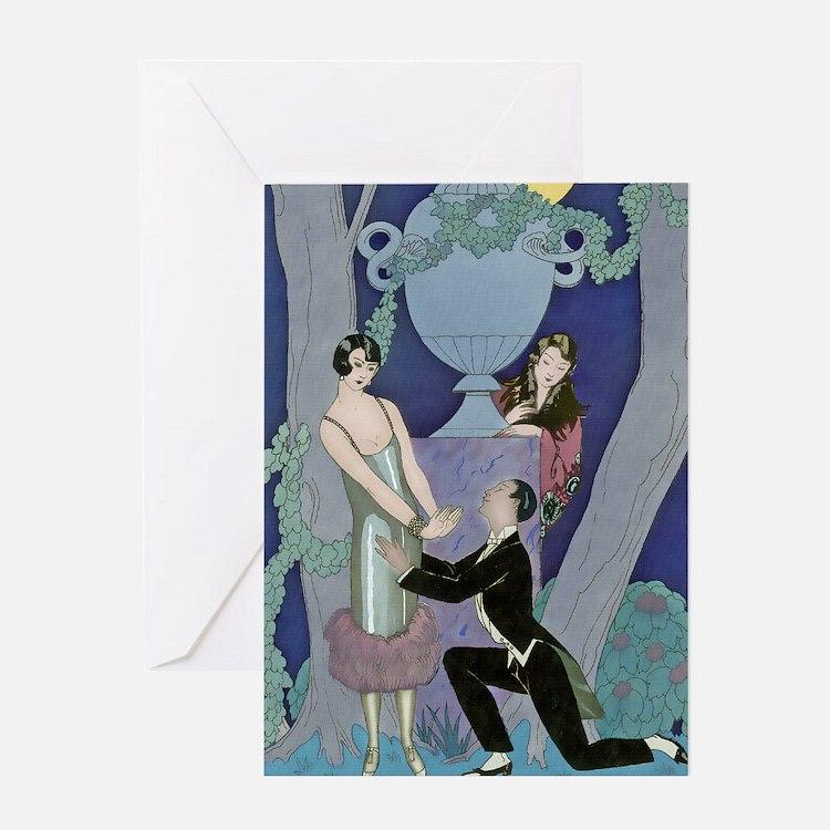 IPAD 6 JUNE  BARBIER LOVE Greeting Card