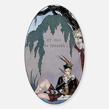 IPAD 4 APRIL BARBIER LOVE Sticker (Oval)