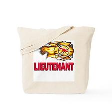 Fire Department Lieutenant Tote Bag